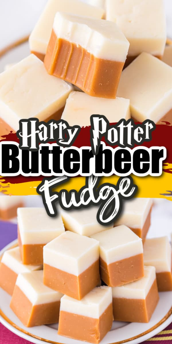 Harry Potter Butterbeer Fudge Pinterest