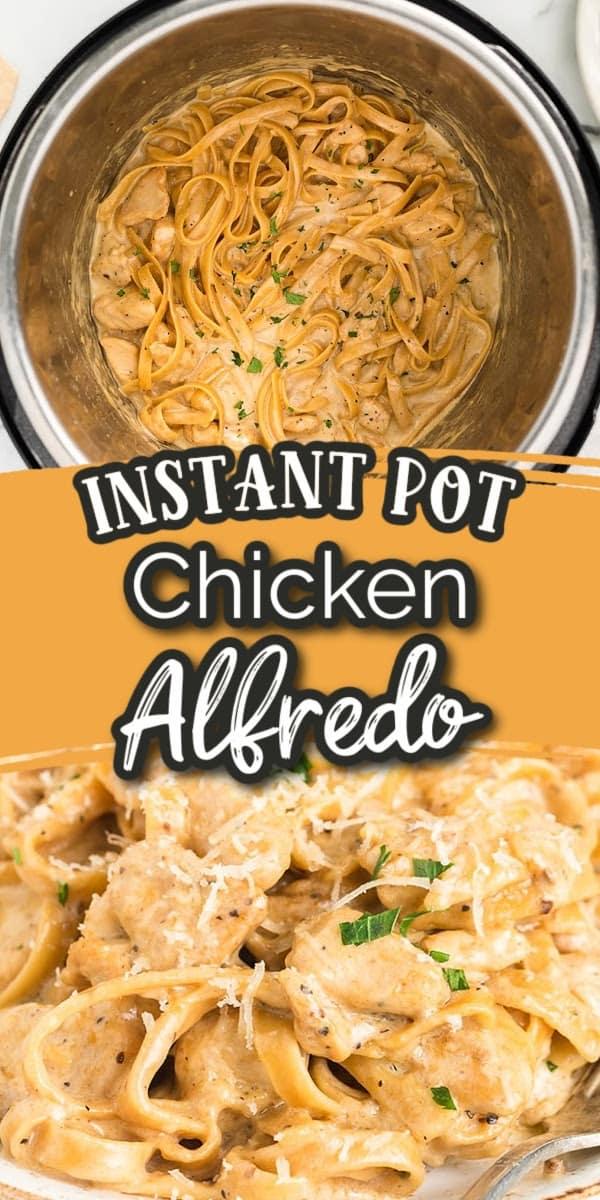Instant Pot Chicken Alfredo Pin