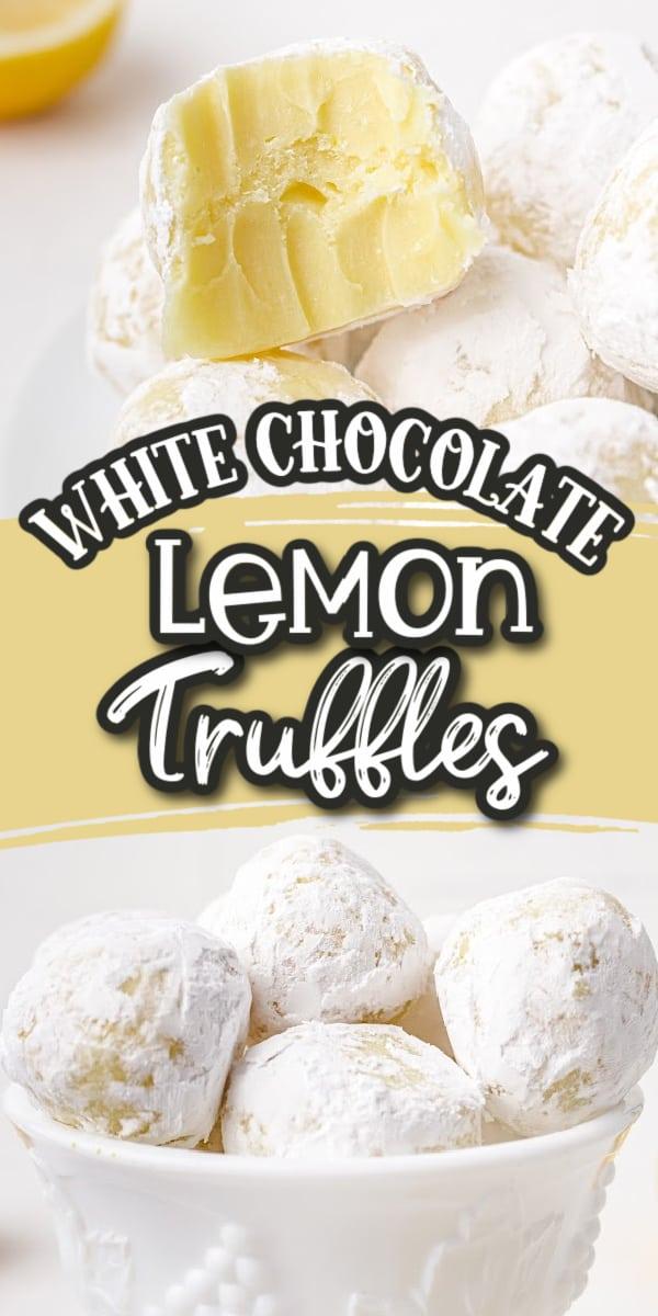 Lemon Truffles Pin