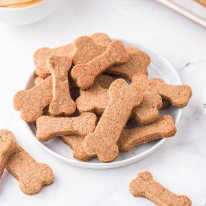 peanut butter dog treats featured image