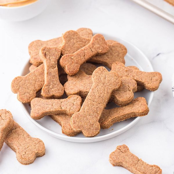 peanut butter dog treats featured image