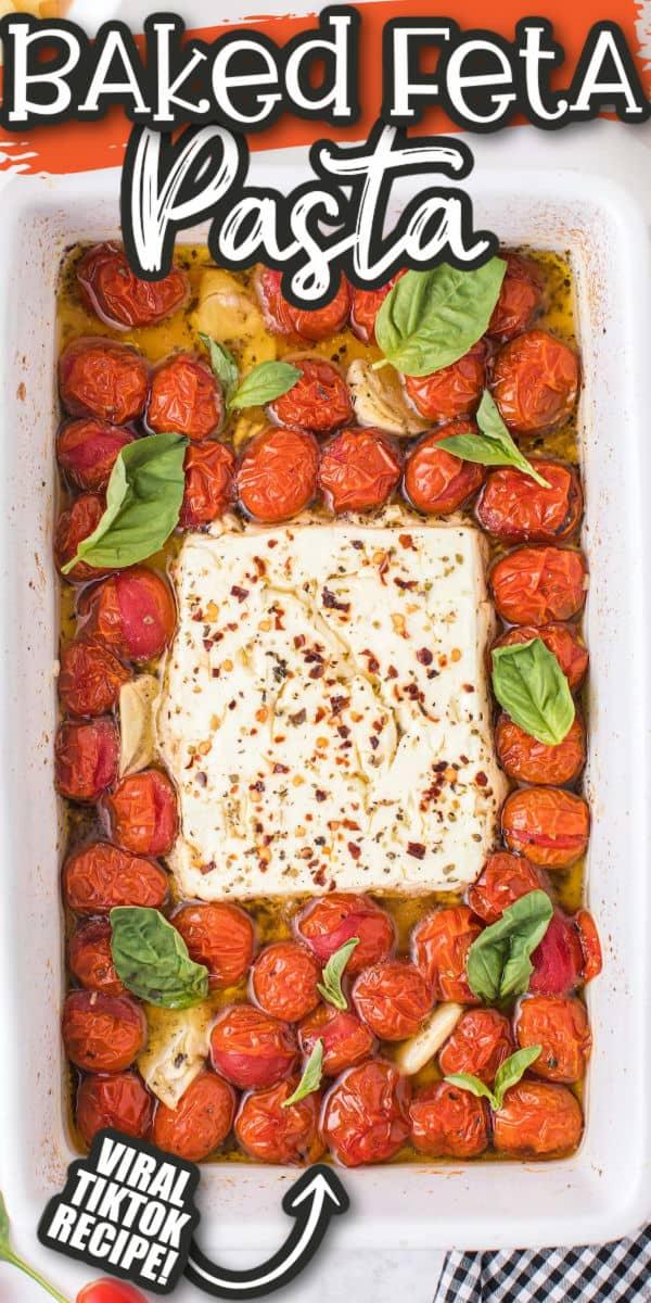 Pinterest 600 x 1200 - baked feta pasta