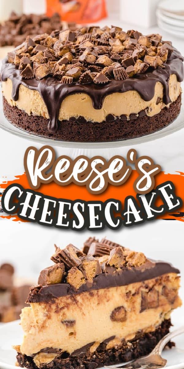 Reese's cheesecake Pinterest