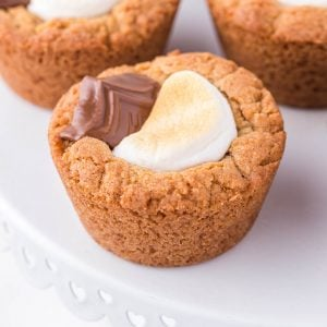 smores cookie cups featured image