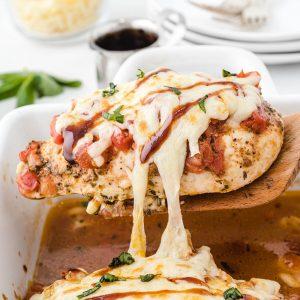 bruschetta chicken featured image
