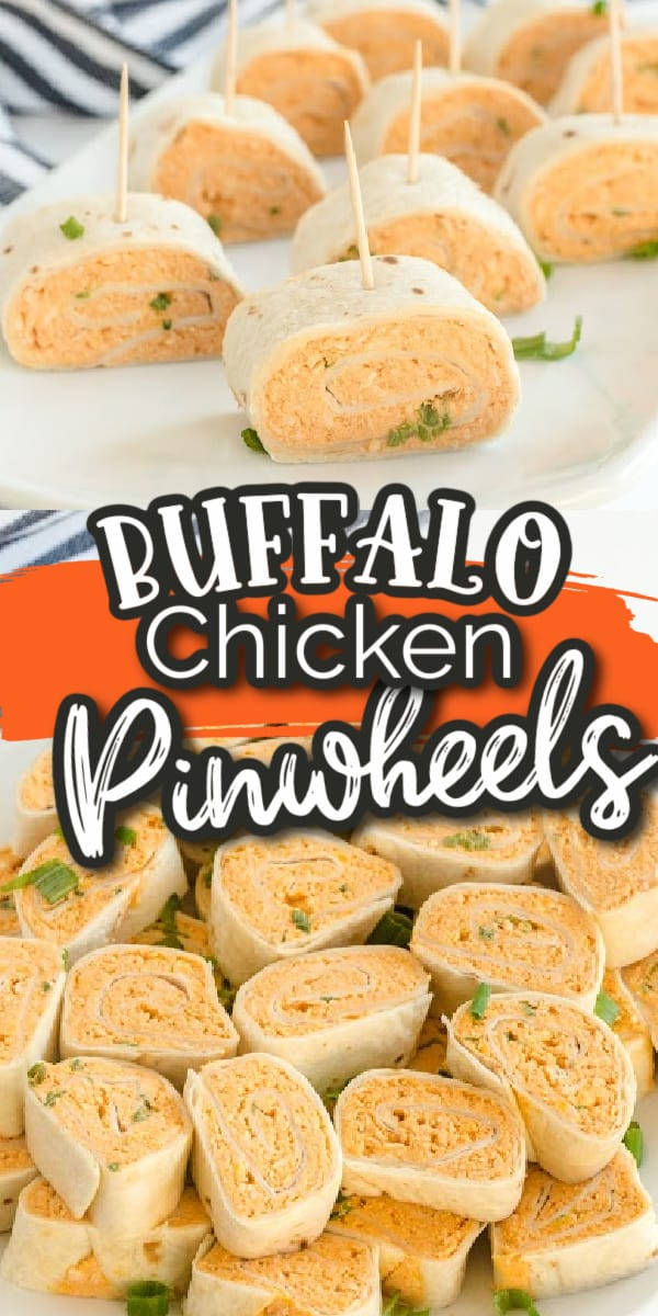 buffalo chicken pinwheel Pinterest