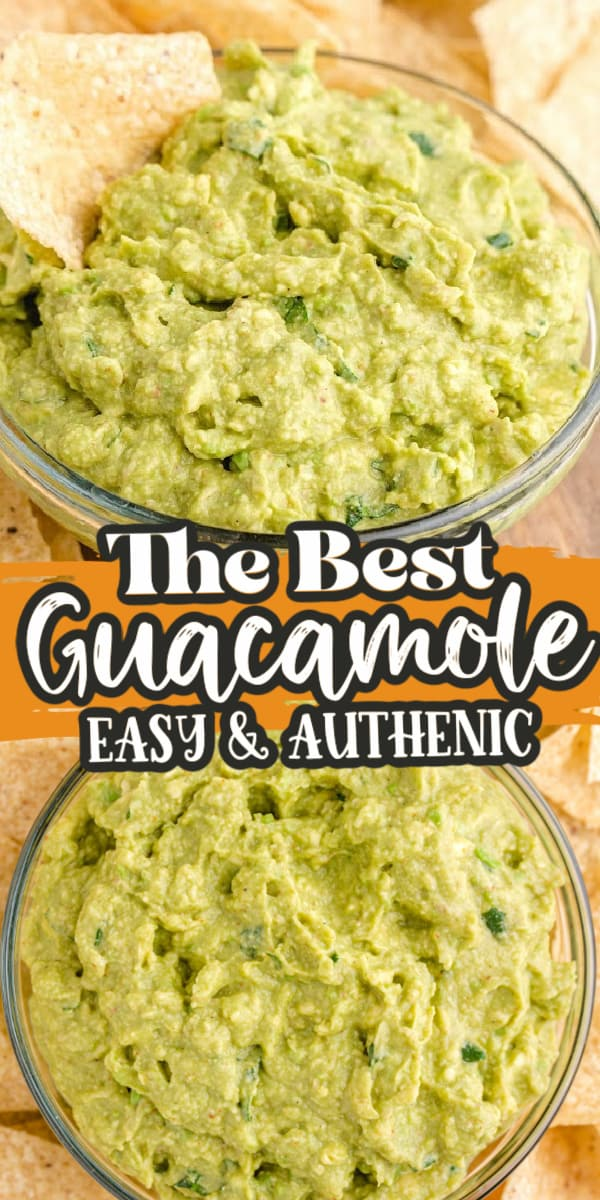 easy homemade guacamole pinterest
