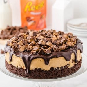 Reeses Cheesecake featured image