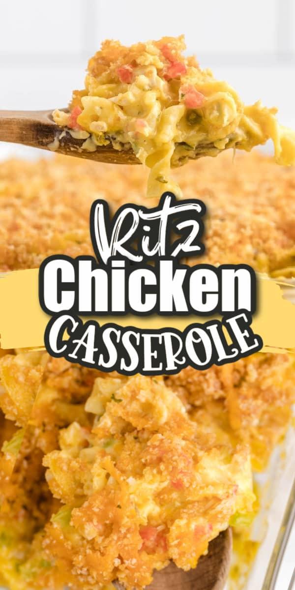 ritz chicken casserole pins