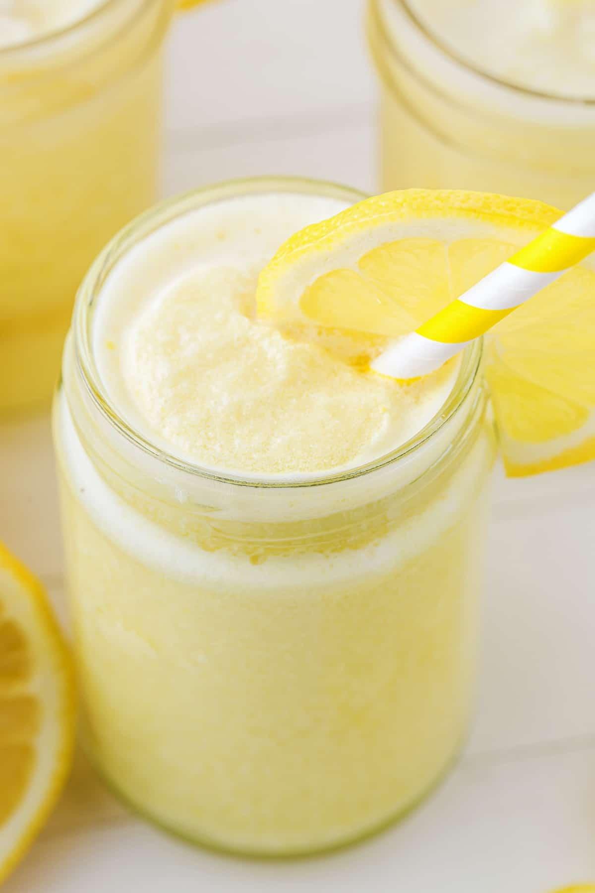 frozen lemonade hero image