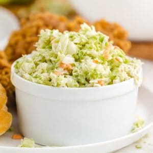 KFC Copycat Coleslaw featured image