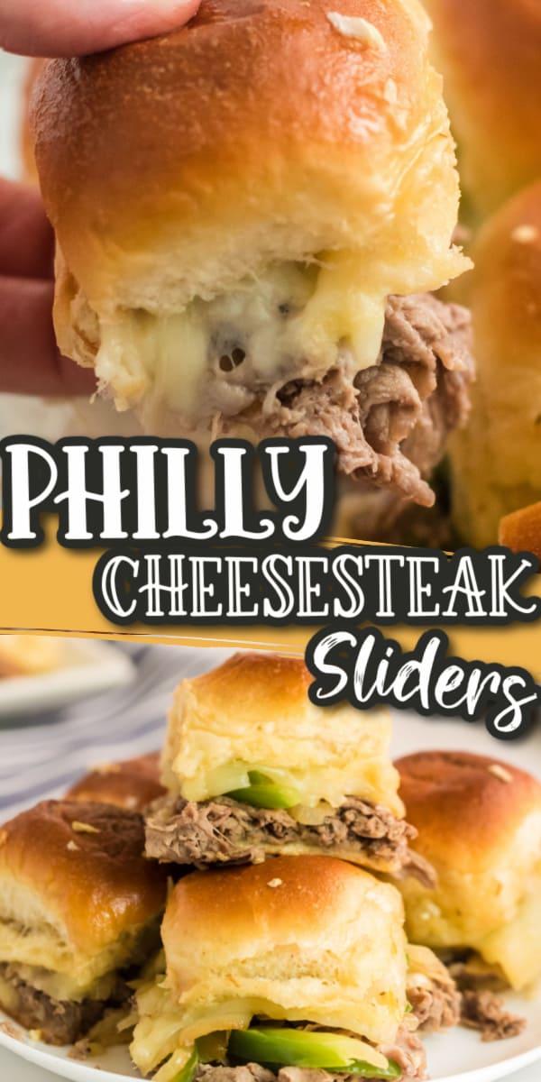 Philly Cheesesteak Sliders pinterest