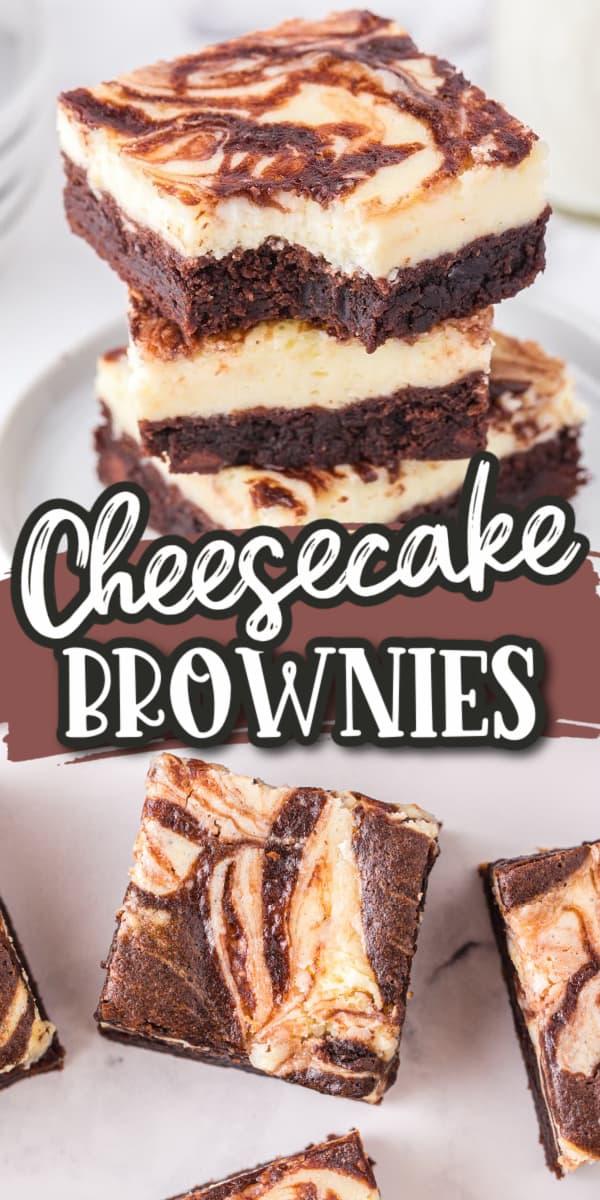 cheesecake brownies Pinterest