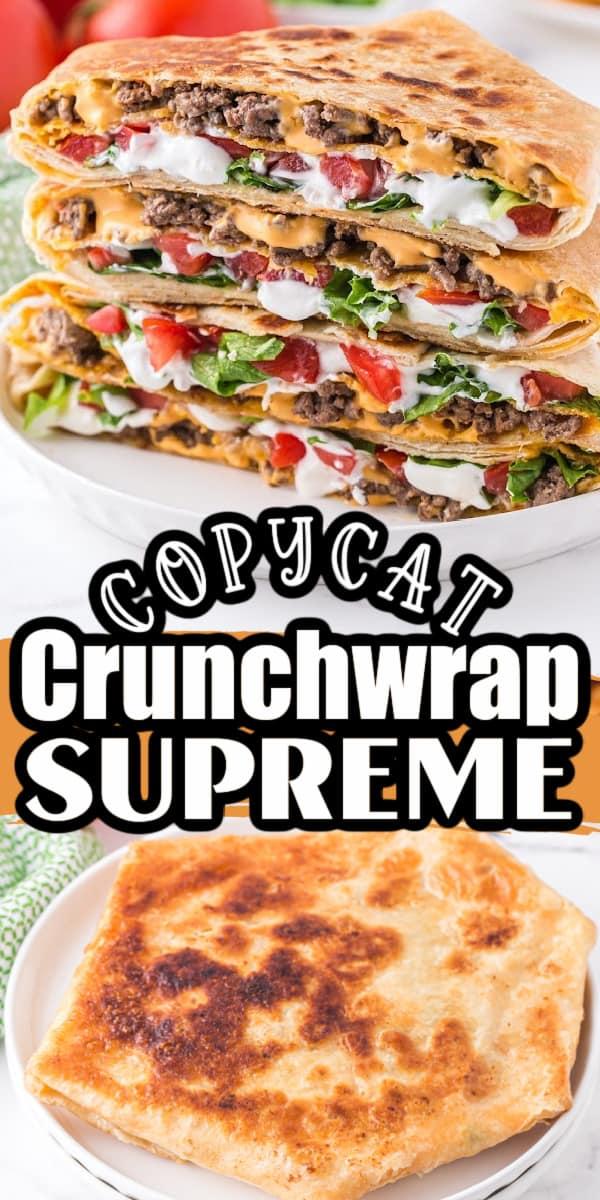 Copycat Crunchwrap Supremes Pin