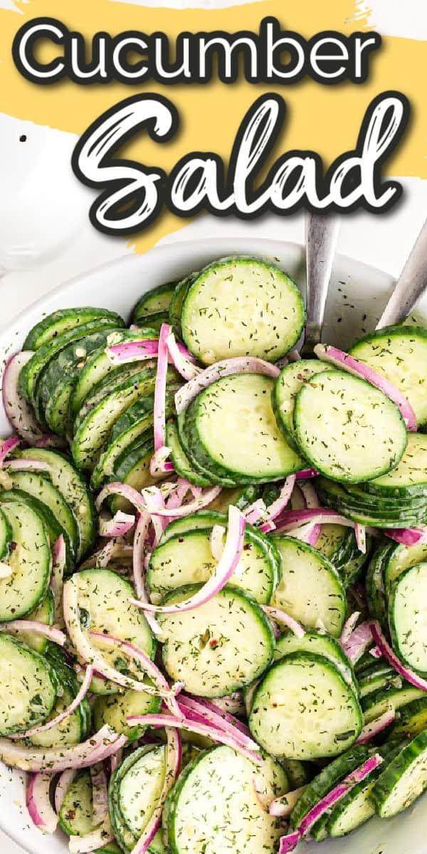 cucumber salad pinterest