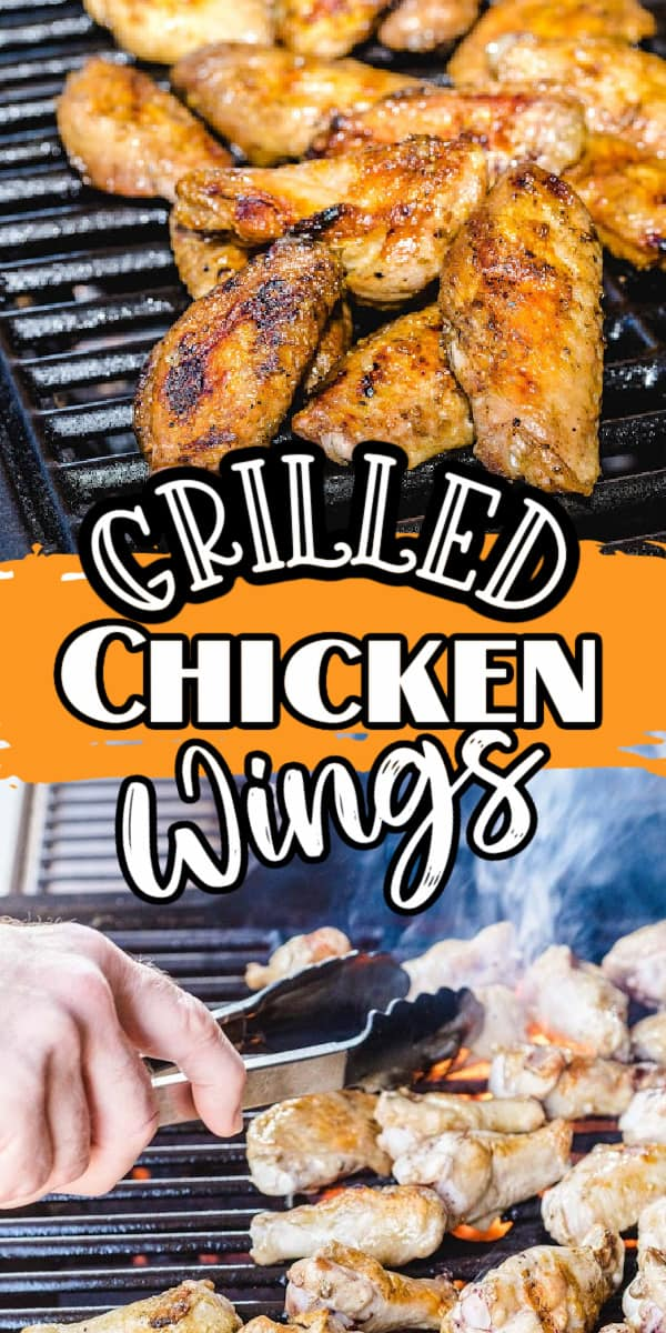 grilled chicken wings pinterest
