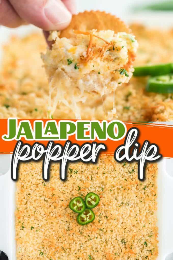 Jalapeño popper dip pinterest