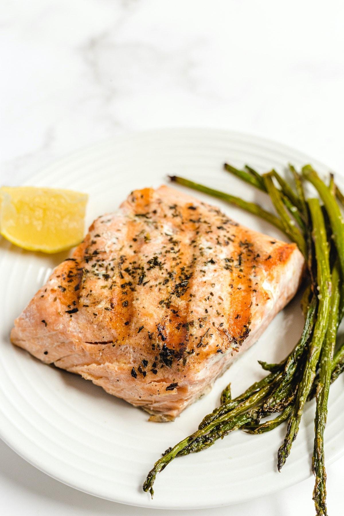 Grilled Salmon hero image