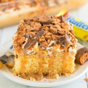 butterfinger cake featured image