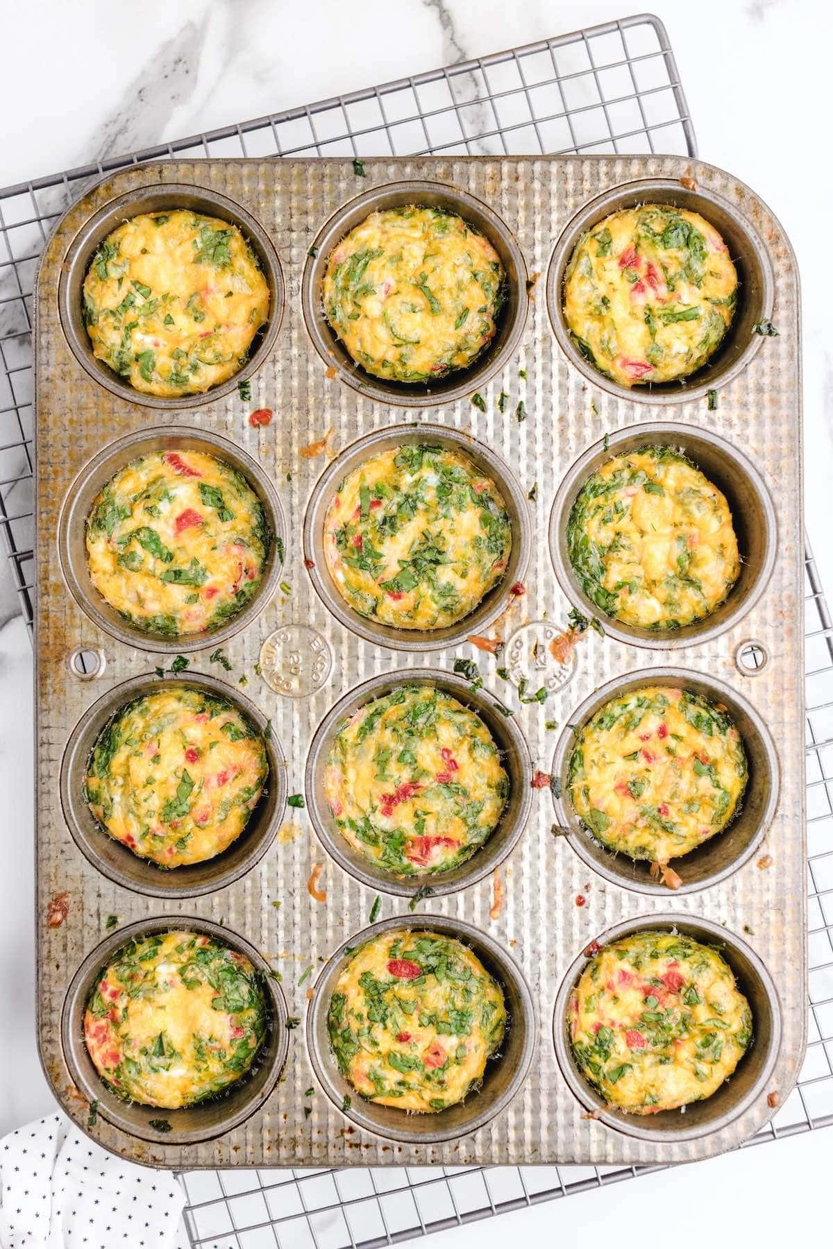 starbucks egg bites in muffin tins