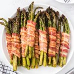 bacon wrapped asparagus square image