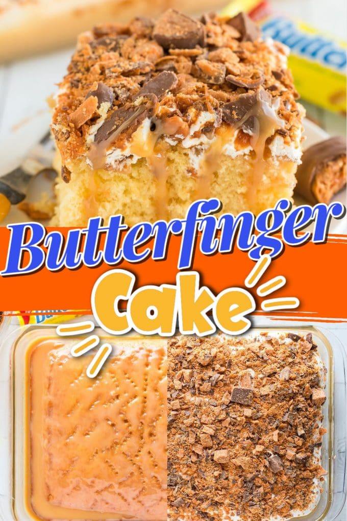 butterfinger cake pinterest