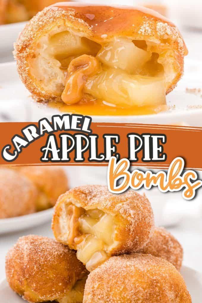 caramel apple pie bombs pinterest