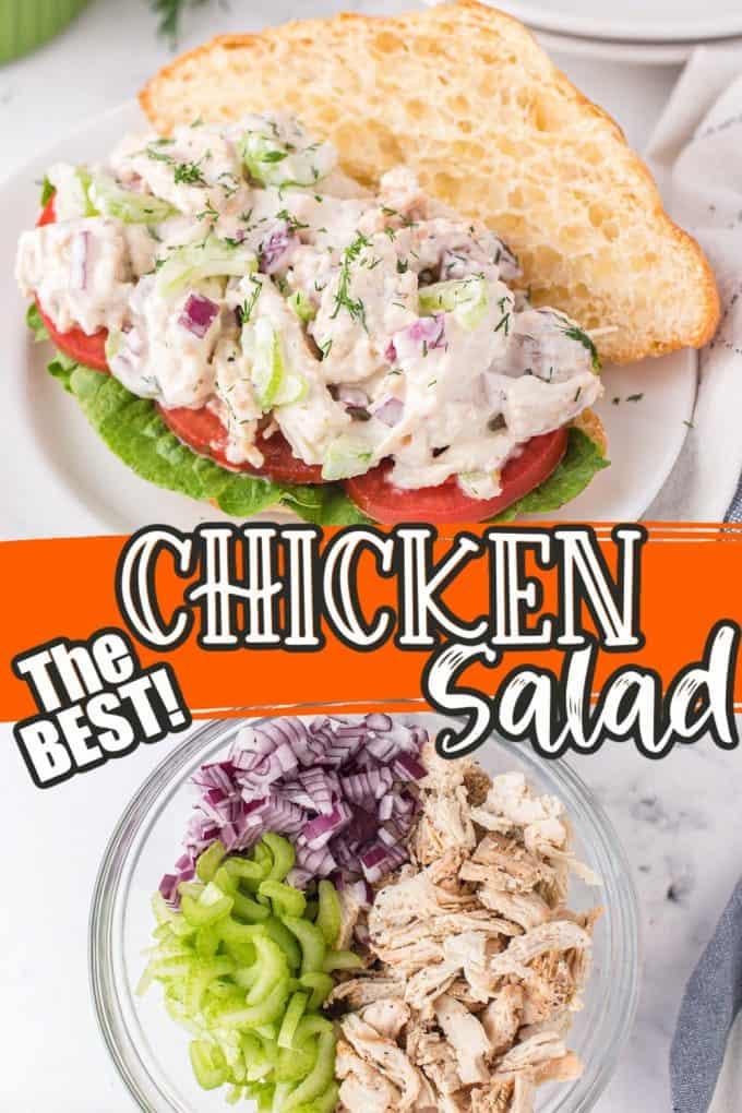 chicken salad pinterest