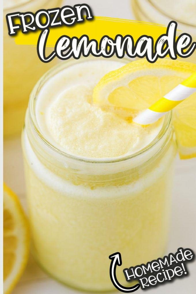 frozen lemonade pinterest