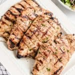 grilled chicken breast featured image
