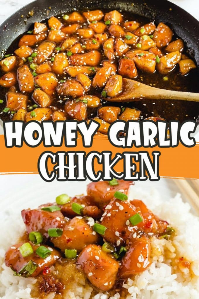 honey garlic chicken Pinterest