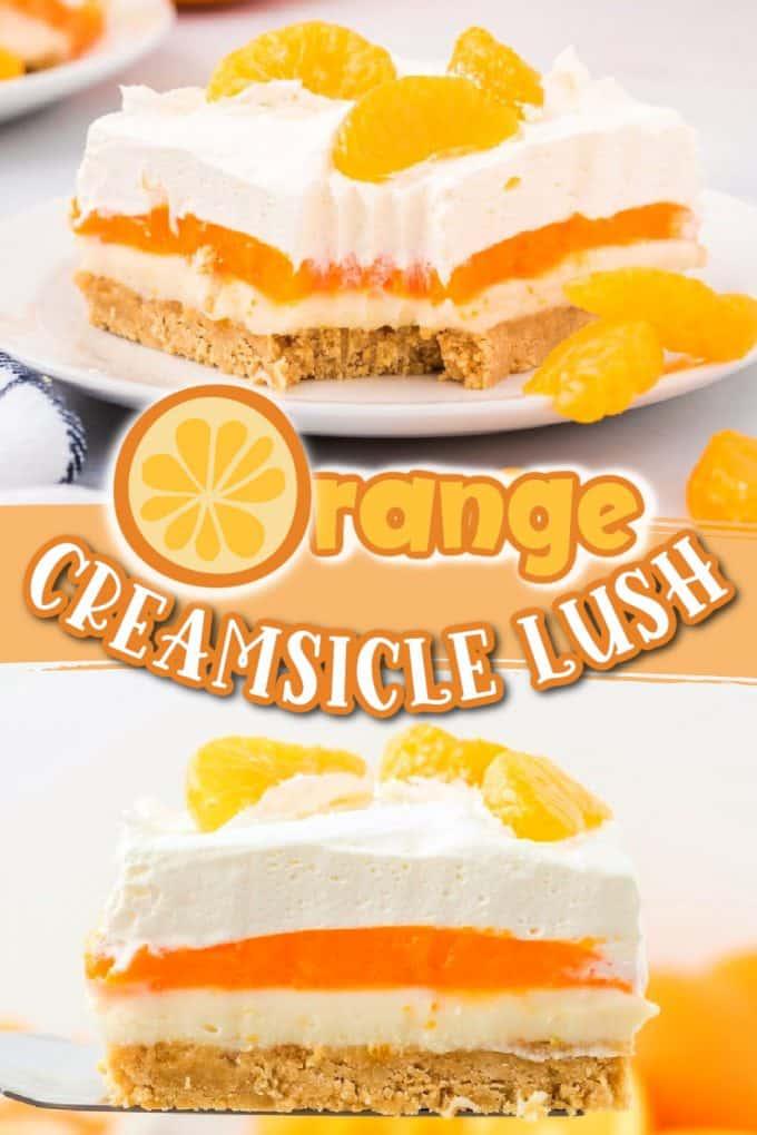 orange creamsicle lush pinterest