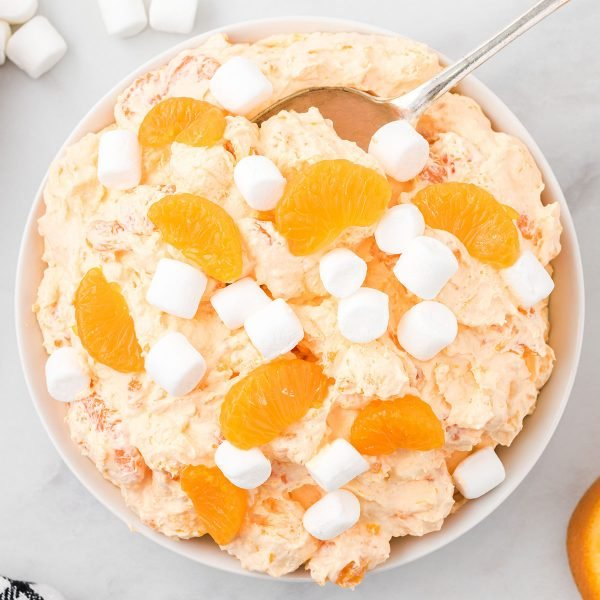orange creamsicle salad