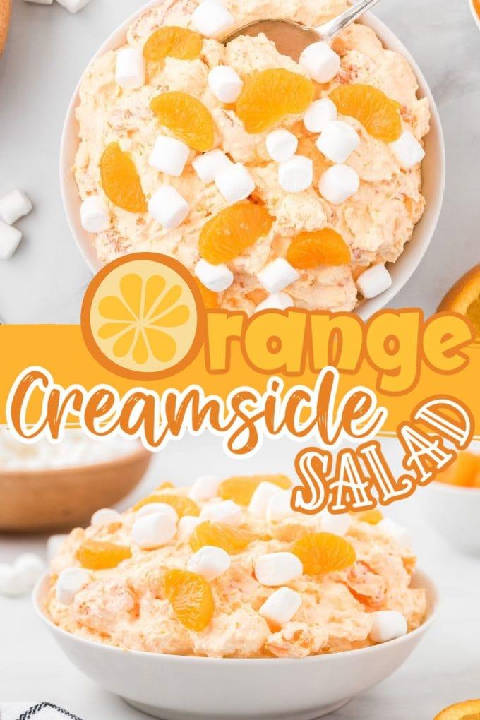 orange creamsicle salad pinterest