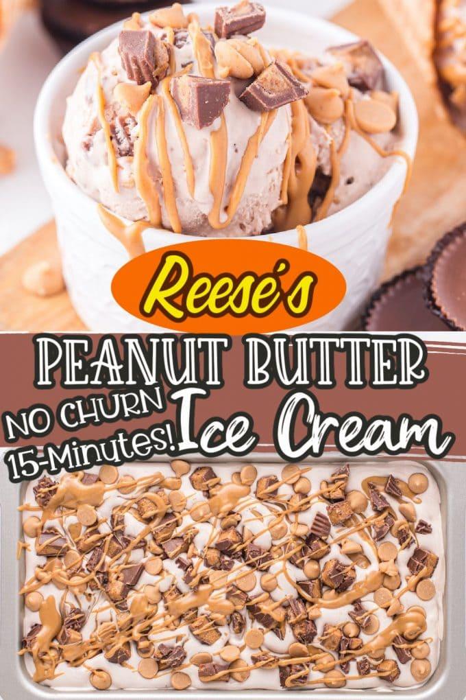 reese's PB ice cream pinterest