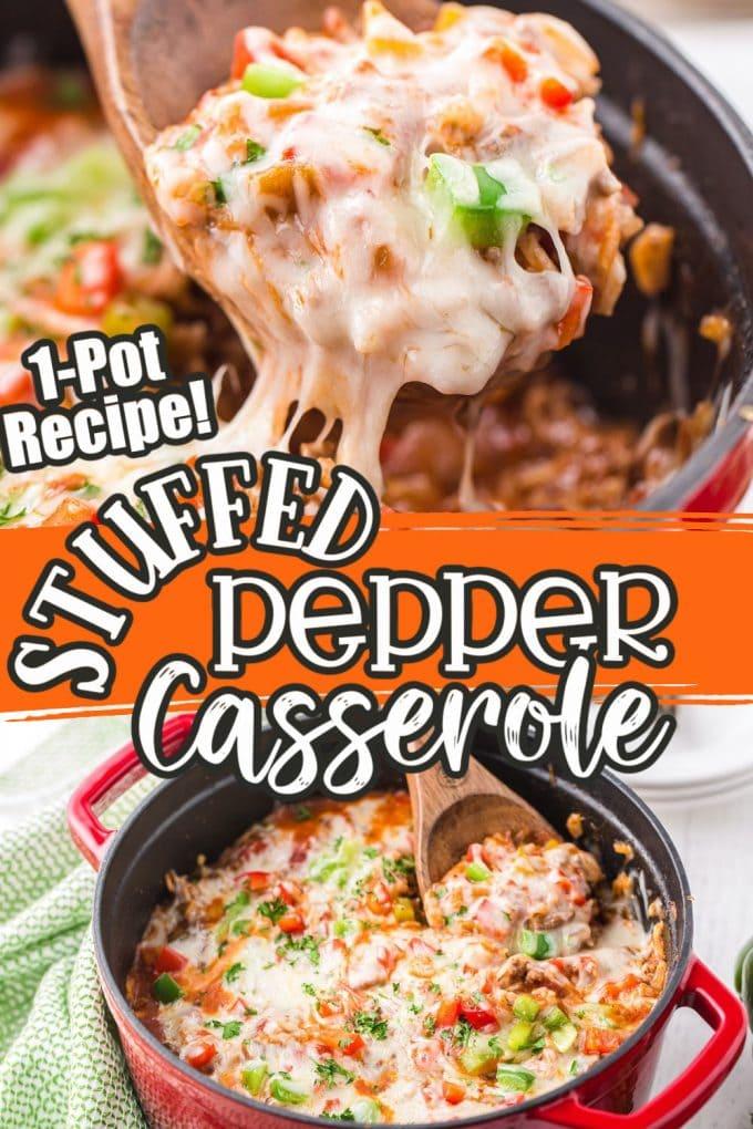 Stuffed Pepper Casserole pinterest