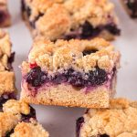 Blueberry Crumb Bars feature image