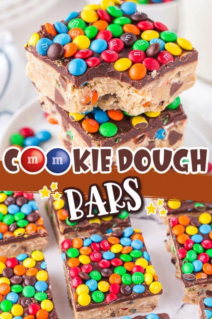 Cookie Dough Bars Pinterest