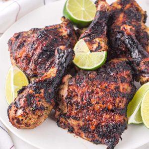grilled jerk chicken featured image
