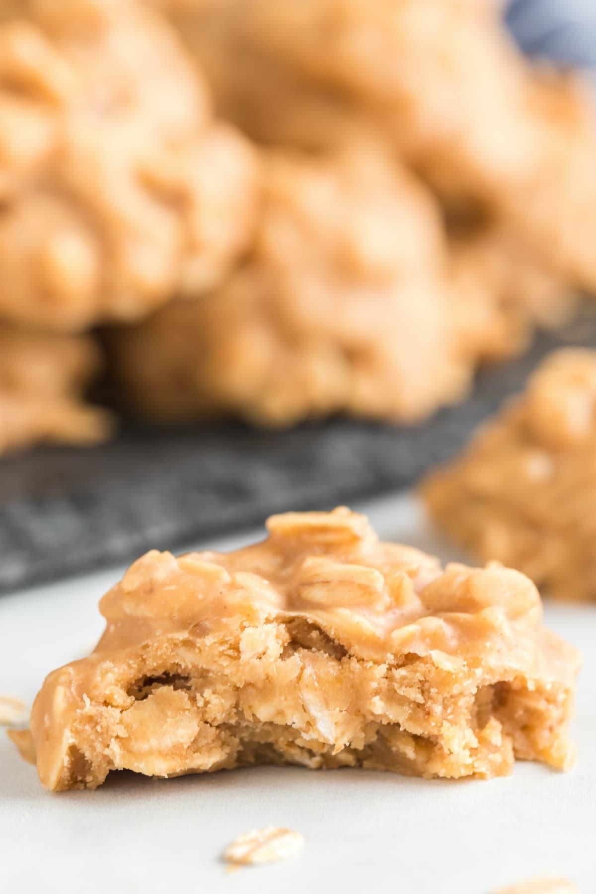 bitten peanut butter no bake cookies
