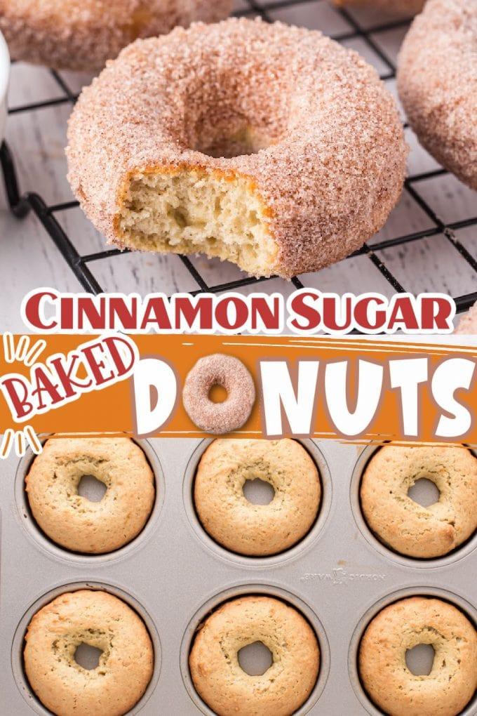 baked donuts pinterest