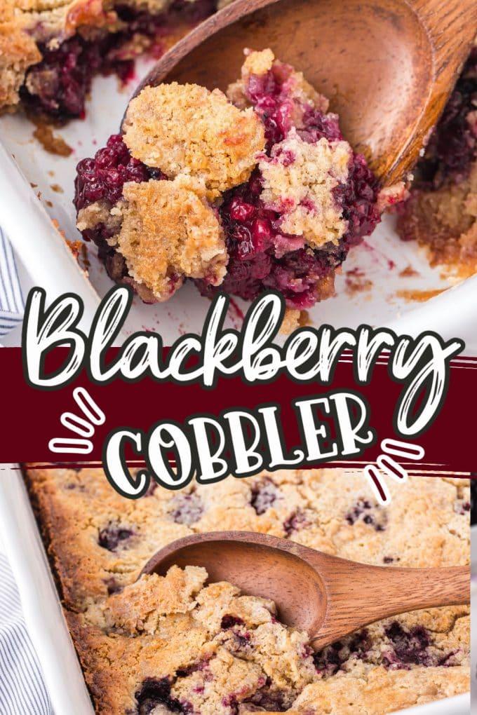Blackberry Cobbler pinterest