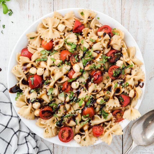 caprese salad square image