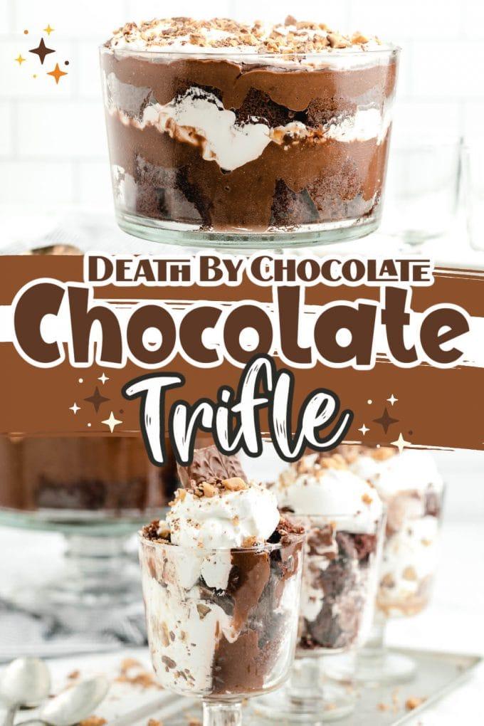 chocolate trifle pinterest