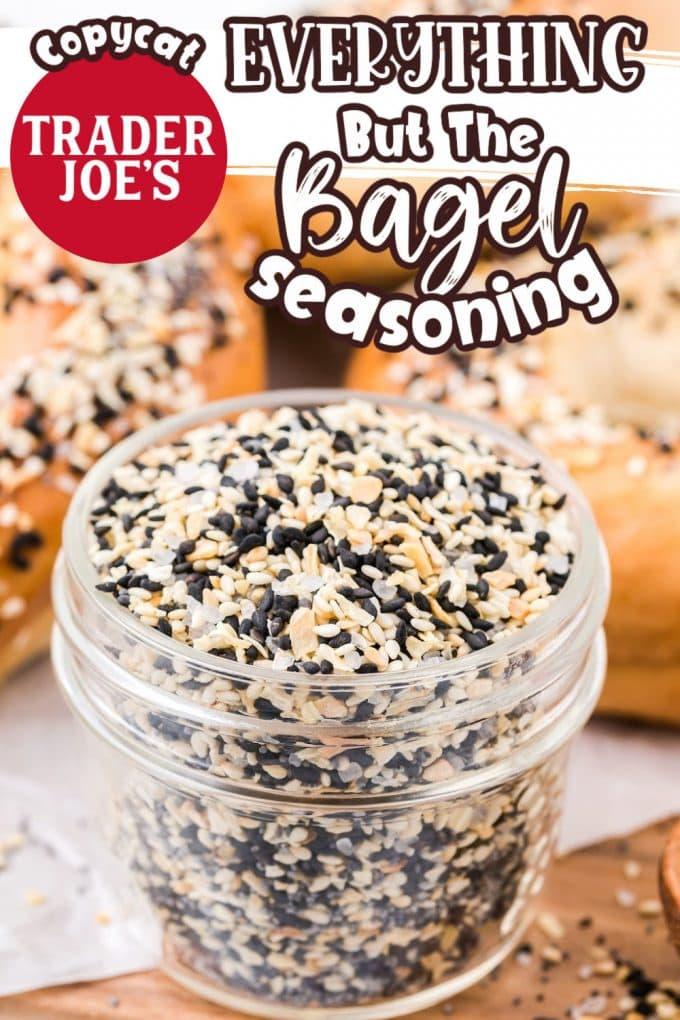 everything bagel seasoning pinterest