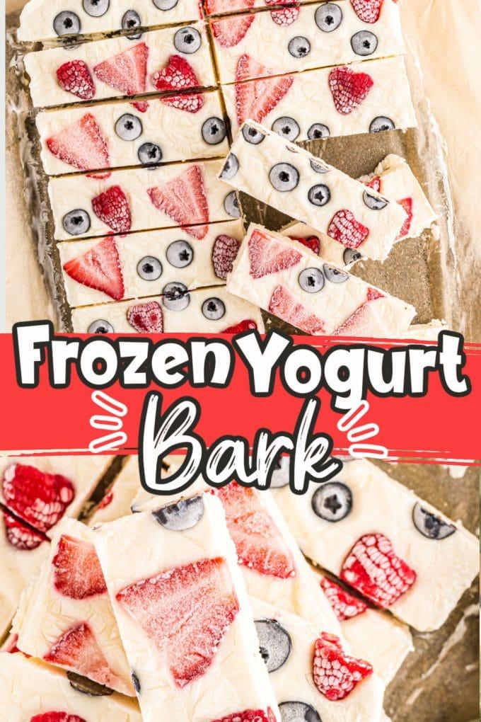 Frozen Yogurt Bark Pinterest