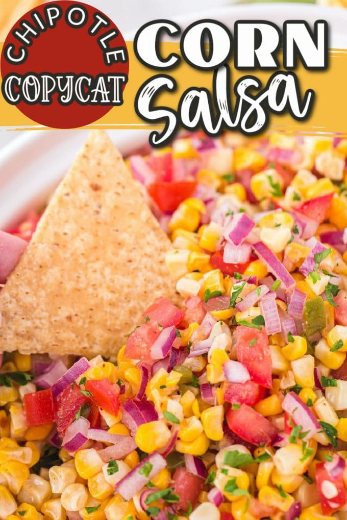 grilled corn salsa pinterest