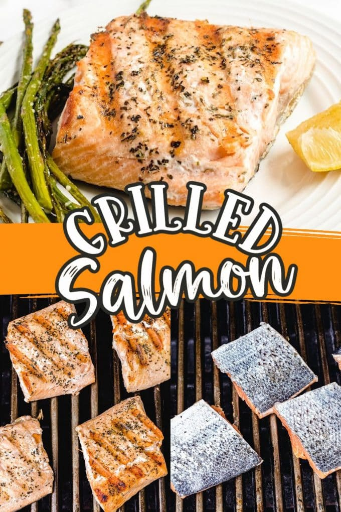 grilled salmon pinterest