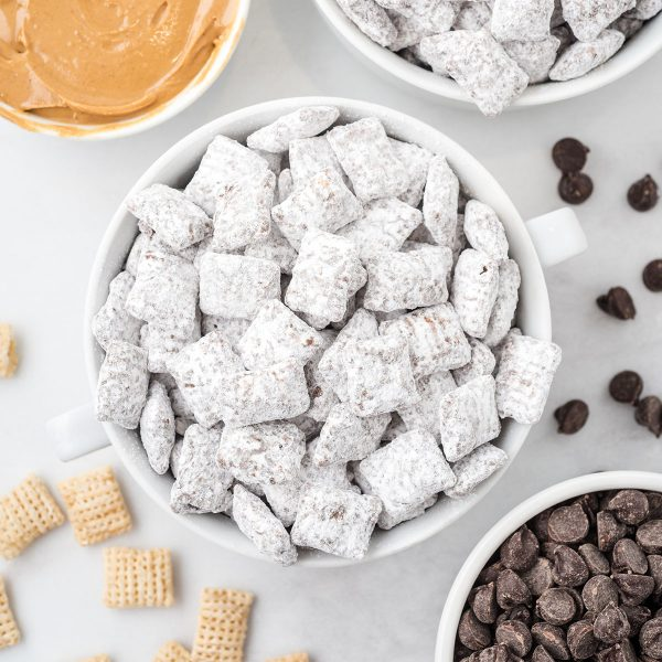 Puppy Chow Recipe feature image