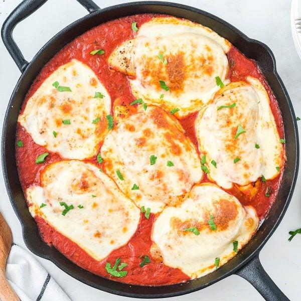 Mozzarella Chicken feature image